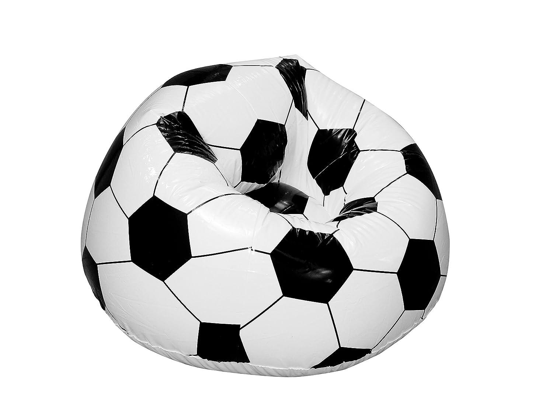 Prodmaison Sillón Hinchable, diseño de balón de fútbol ...