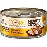Wellness Core® Hearty Cuts Natural Canned Grain Free Wet Cat Food, 5.5-Ounce Can (Pack of 24)