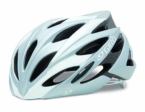 Giro Savant - Casco para ciclismo, color blanco/plata (white/silver)