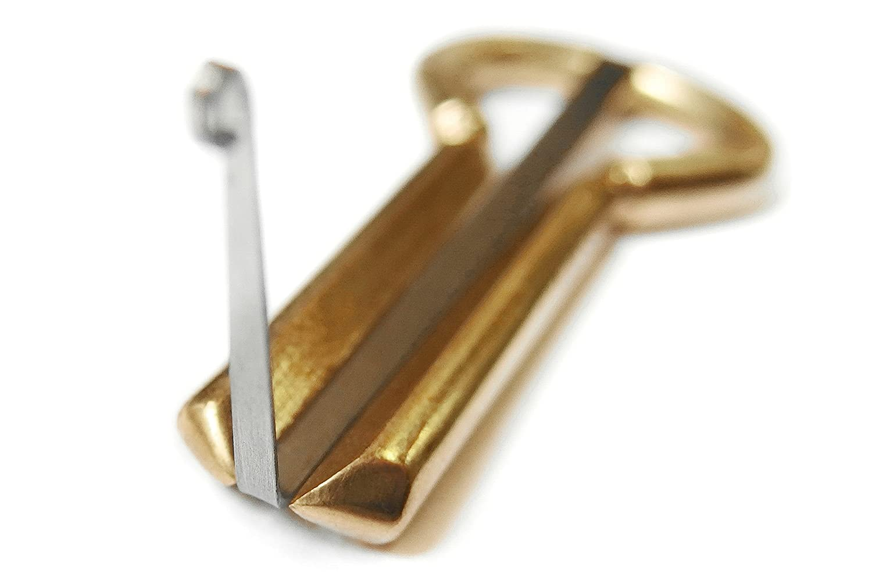 Mund-Musikinstrument PP27 Altay-Maultrommel mit Etui Kiefer-Harfe von P.Potkin Kabay Case