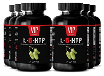 Amazon com: L tryptophan b6 - L-5-HTP for a good night's sleep, for