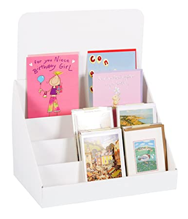 Amazon cardboard greeting card displays stand for a5 and a6 cardboard greeting card displays stand for a5 and a6 cards m4hsunfo Gallery