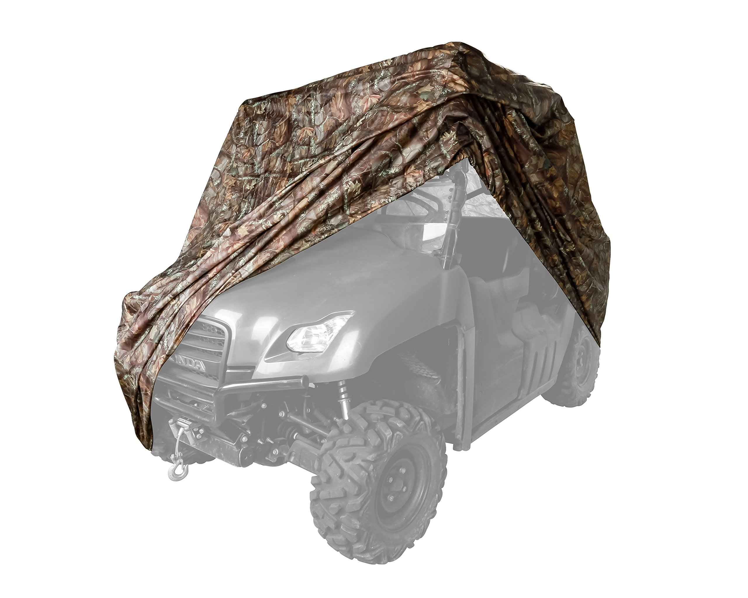 Black Boar Cover, Protect Your UTV from Rain, Snow, Dirt, Debris, Damaging UV Rays While in Storage (Jungle Camo) (66023)