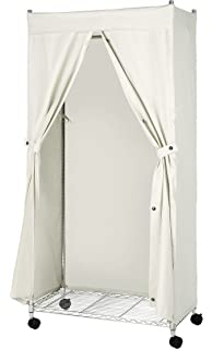 Whitmor 6462 389 Supreme Garment Rack Cover Natural Canvas