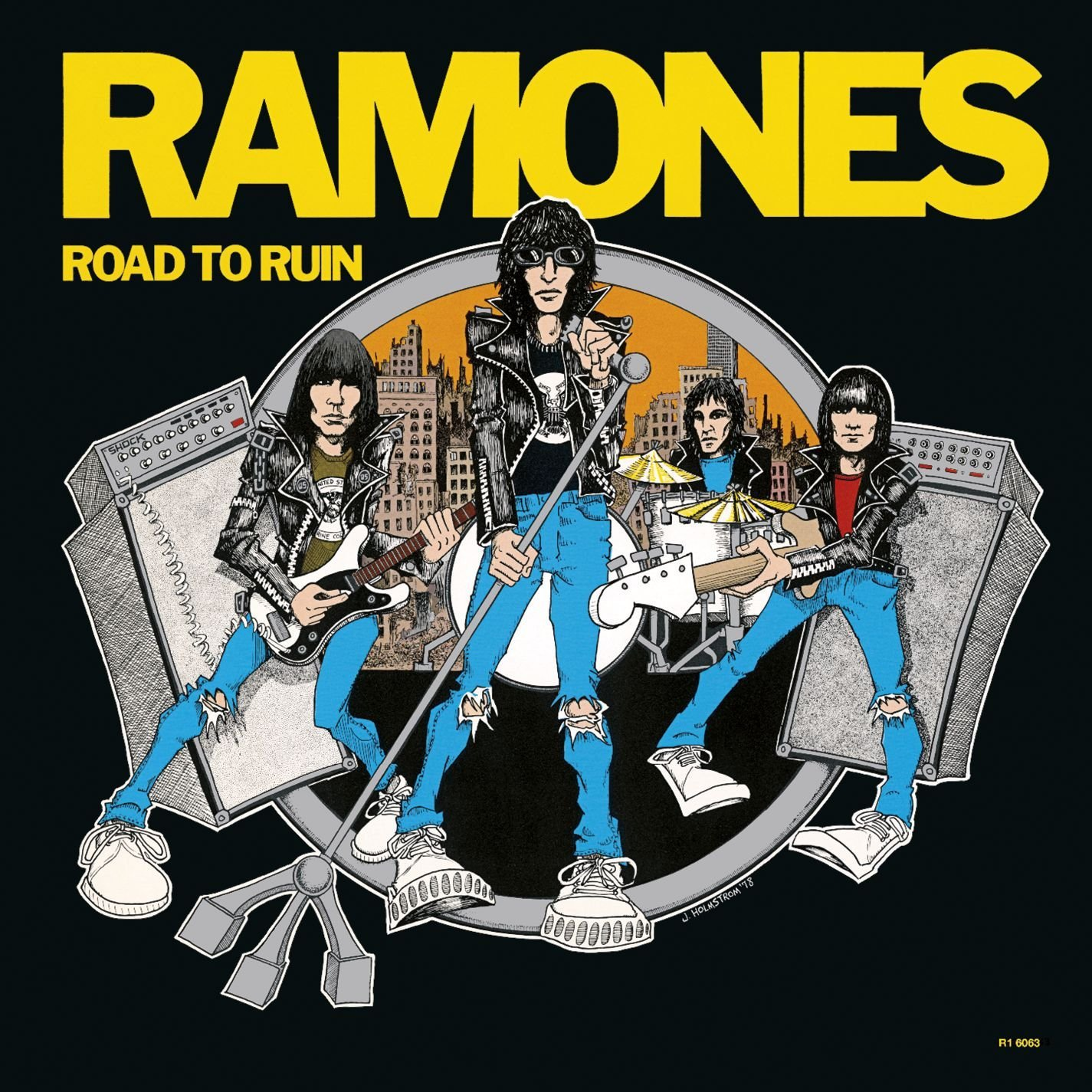 Vinilo : The Ramones - Road To Ruin (LP Vinyl)