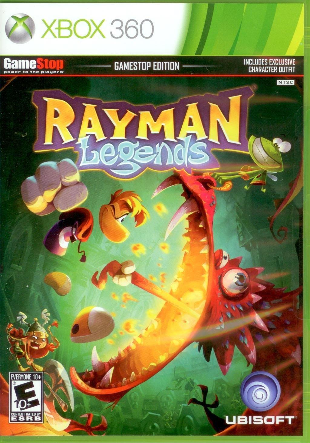 Amazon Com Rayman Legends Gamestop Edition Video Games