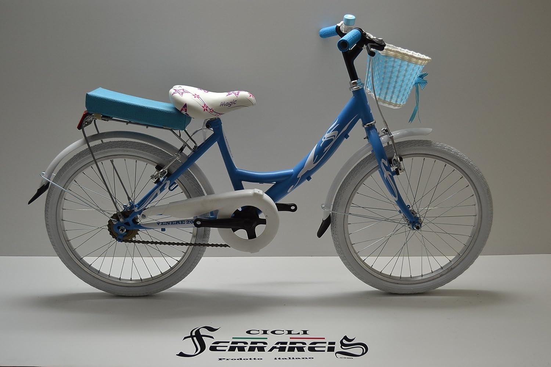 Cicli Ferrareis Bici Bimba Venere 20 1V 5 Anni Celeste