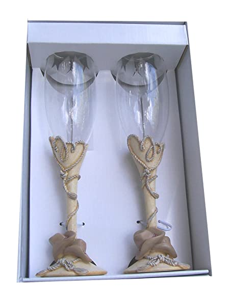 Hortense B Hewitt Wedding Accessories Country Flair Champagne Toasting Flutes