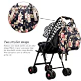 Diaper Bag Backpack Floral Baby Bag Water-resistant