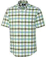 Cutter & Buck Men's S/S WhiteMarsh Check Shirt