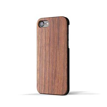 Amazon.com: IPhone 7 Wood Case 'Marco Polo'. Real Wooden Overlay ...