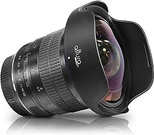 Altura Photo 8mm f/3.0 Professional Ultra Wide Angle Aspherical Fisheye Lens for Nikon D500 D3200 D3300 D3400 D3500 D5200 D5300 D5500 D5600 D7100 D7200 D7500 DSLR Cameras