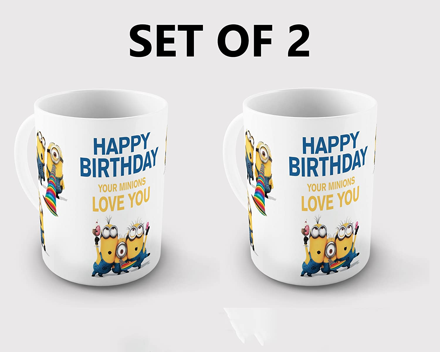 Buy Generic Happy Birthday From Minions Coffee Mug Gift Online at ...