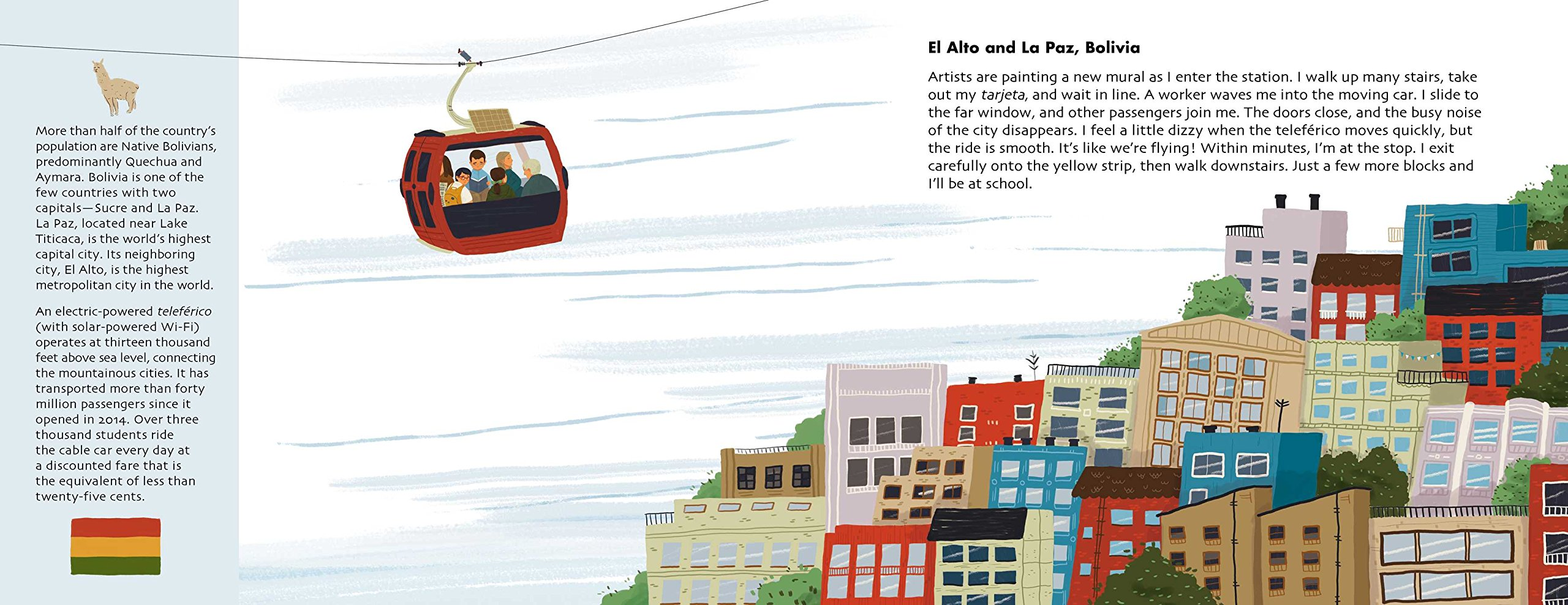 Adventures to School: Real-Life Journeys of Students from Around the World by little bee books (Image #4)