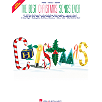 The Best Christmas Songs Ever Songbook (Best Ever) book cover