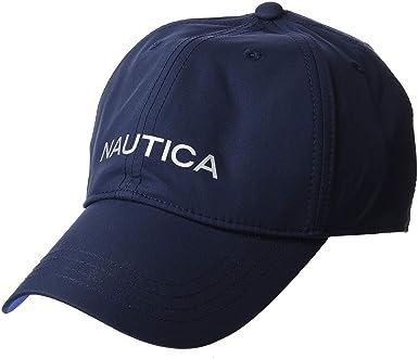 Nautica Waterproof Heritage Baseball Cap, Gorra de béisbol para Hombre, Azul (Navy 4nv), One Size (Tamaño del Fabricante:OSZ): Amazon.es: Ropa y accesorios