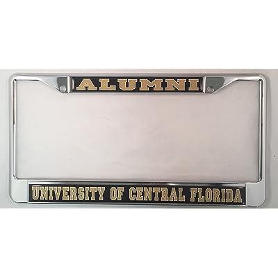 University of Central Florida Alumni License Plate Frame: Garden & Outdoor