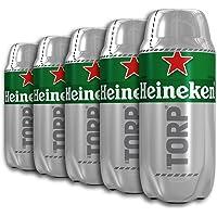 Heineken Cerveza - Caja de 5 Torps Diseñado exclusivamente para THE SUB x 2L - Total: 10 L
