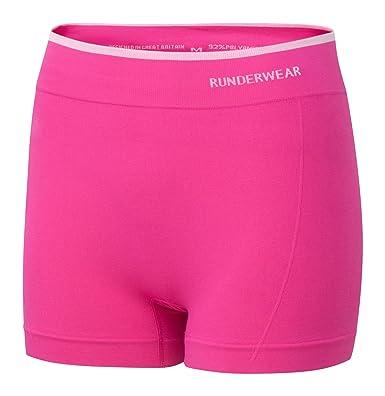 Runderwear Mujeres Caliente del pantalón s-Anti-Chafe Ropa Interior para Running,