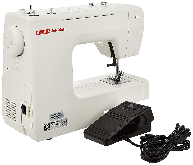 Mini sewing machine usha online shopping kamos sticker