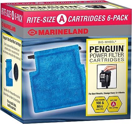 NEW Marineland Emperor Rite Size Replacement Aquarium Filter Cartridge E 4 Pack