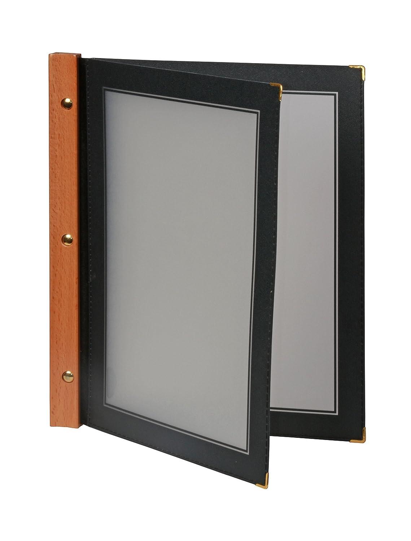 Securit Set da 5 inserti A5 Beige per la linea Wood porta Menu in legno