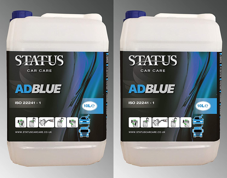 Status Adblue 2 x 10 Litre with Pouring Spouts 20 L