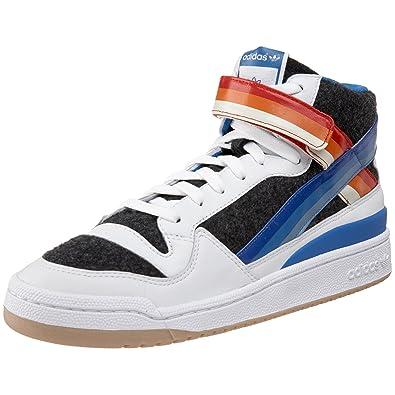 2729eea462c ... canada adidas forum mid gruen mens sz 11.5 white grey blue multi red  multi 18b09 9c3b6