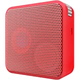 Portronics Cubix POR-182 Portable 2.0 Wireless Stereo Speaker with FM Tuner (Red)