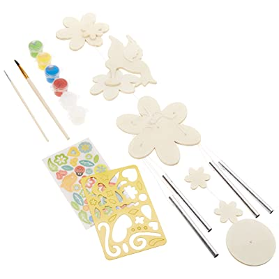 MasterPieces Works of Ahhh Hummingbird Windchime Wood Paint Kit: Toys & Games