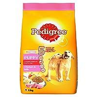 Pedigree Puppy Dry Dog Food, Chicken and Milk, 1.2 kg