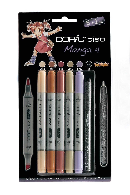 Copic CZ22075524 - de Paquete de - 24 rotuladores, multicolor 815c48