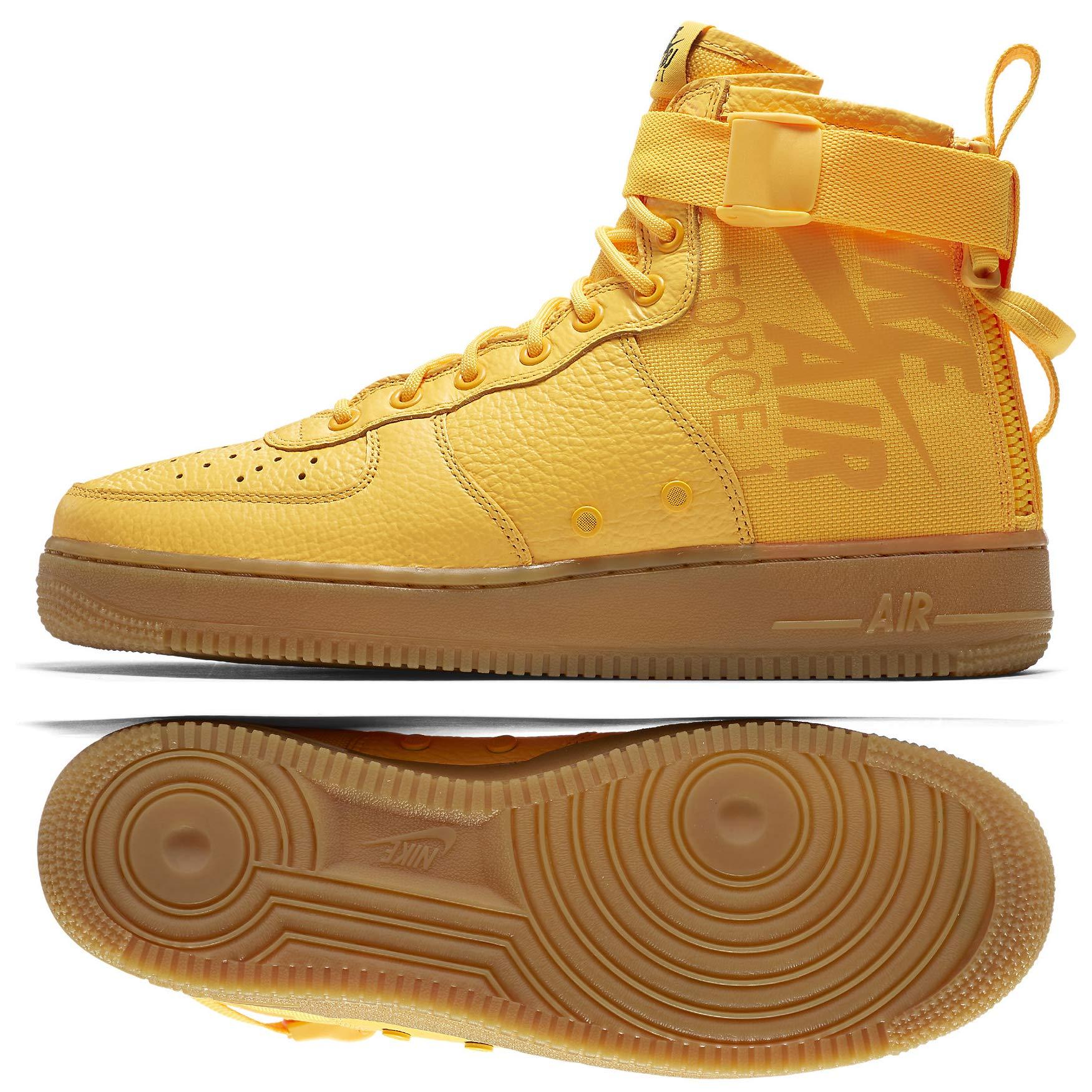 sale retailer 6e181 6dbf9 Galleon - Nike SF AF1 MID 917753 801 Laser Orange OBJ Odell Beckham Men s  Shoes (11)