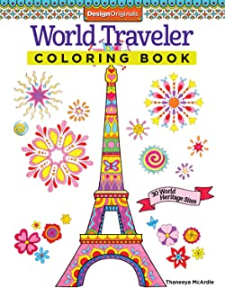 World Traveler Coloring Book 30 Heritage Sites Is Fun