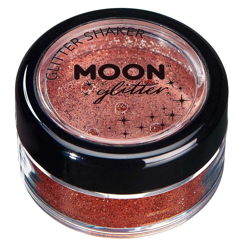 Barattolino glitter fini della Moon Glitter – 100% Cosmetico per viso, corpo, unghie, capelli e labbra - 5gr - Lavanda