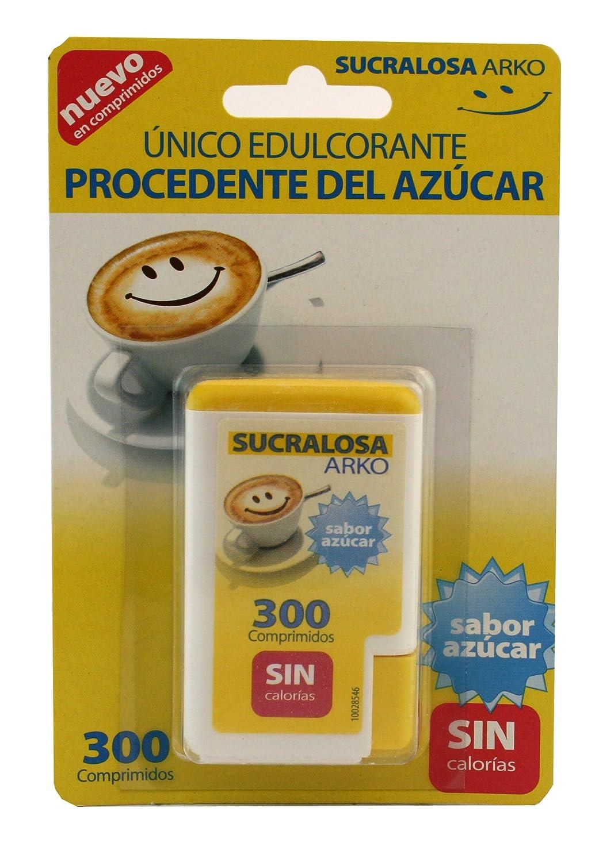 Arko Sucralosa Edulzante Extraido del Azúcar, 300 ...