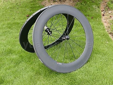 yuanxingbike Full Carbon UD Brillante Carretera Bicicleta Tubular ...