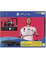 PlayStation 4 (PS4) + FIFA 20/FUTVCH/PS y días +DS4 v2/PS41TBF/SPA, Slim 1TB
