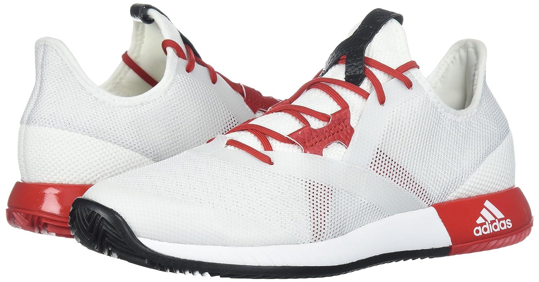 Amazoncom  Adidas Womens Adizero Defiant Bounce w Tennis Shoe Mystery  Ruby White Red Night 65 M US  Running