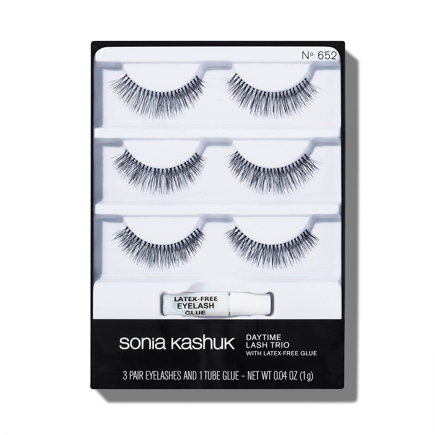 Amazon Sonia Kashuk Daytime False Eyelashes Trio 3 Pair Pack