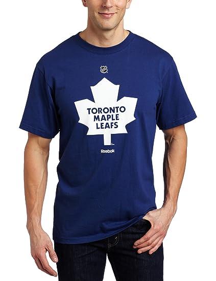 wholesale dealer fb30d ac98f Buy NHL Men's Toronto Maple Leafs Primary Logo T-Shirt (Dark ...