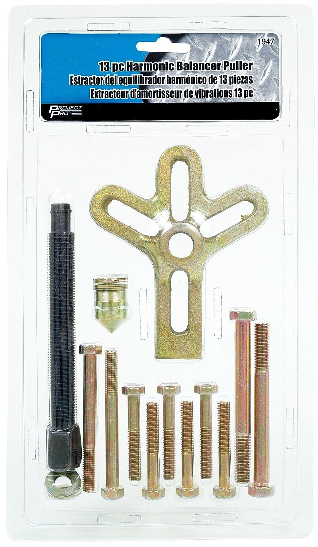 Performance Tool 1947 13-Piece Harmonic Balancer Puller 13-Piece Harmonic Balancer Puller