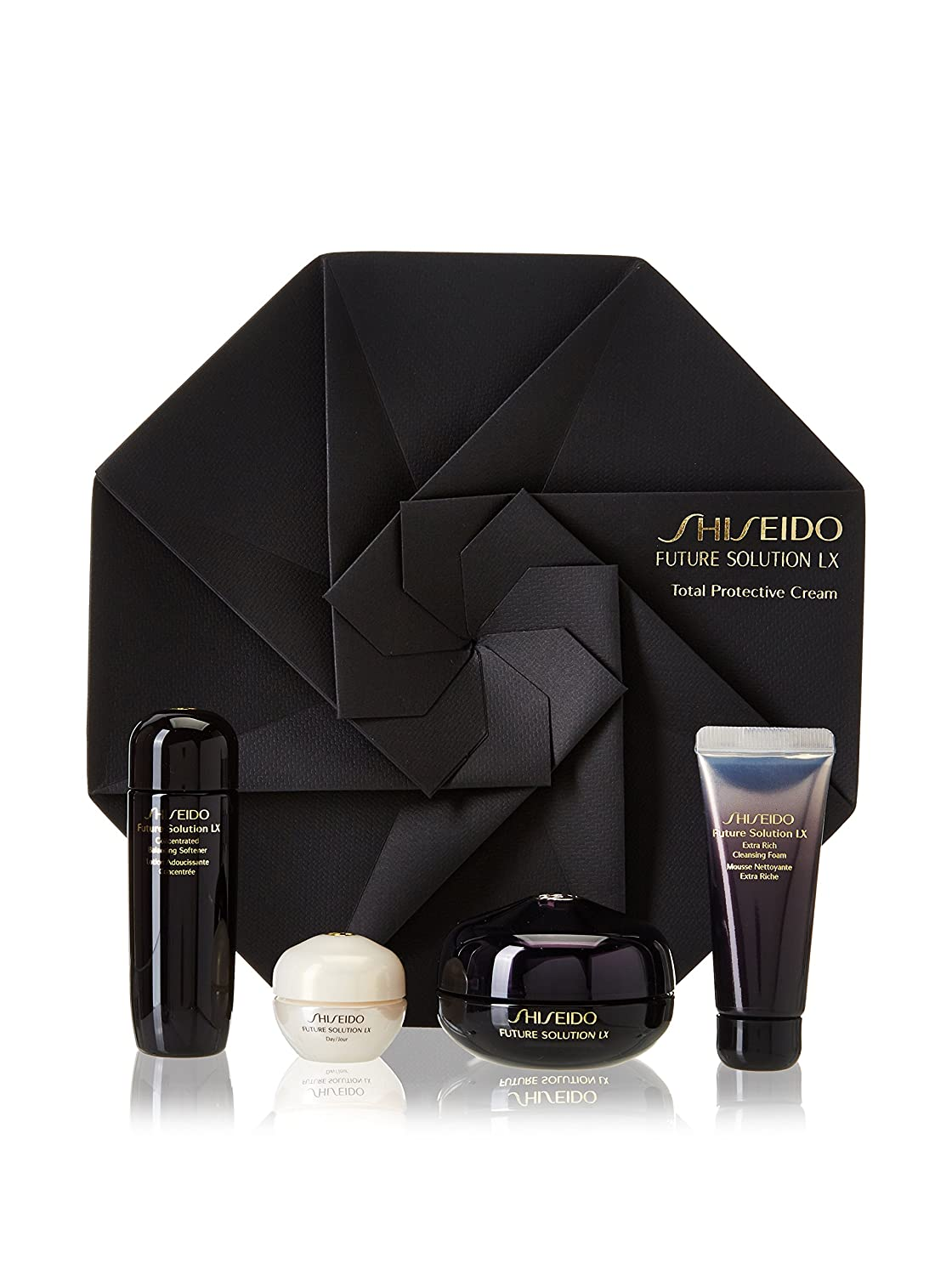 Amazon.com : Estuche Shiseido Future Solution Lx Eye-Lip ...