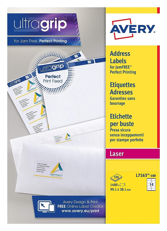 Infiniti - Pack de etiquetas para CD (A4, en blanco, 100 unidades), color blanco: Amazon.es: Oficina y papelería
