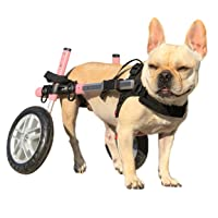 Walkin' Wheels Dog Wheelchair - for Small Dogs 11-25 Pounds - Veterinarian Approved...