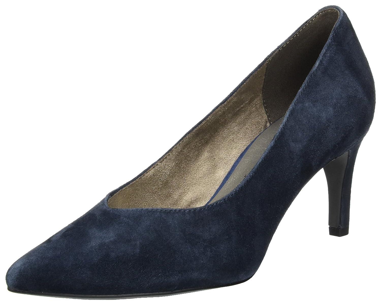 Tamaris 22436, Zapatos de Tacón para Mujer, Azul (Navy), 38 EU