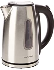 Morphy Richards 102774 Stainless Steel Equipment Jug Kettle, 3000 W