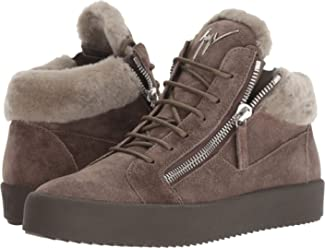 Giuseppe Zanotti Mens May London Shearling Sneaker
