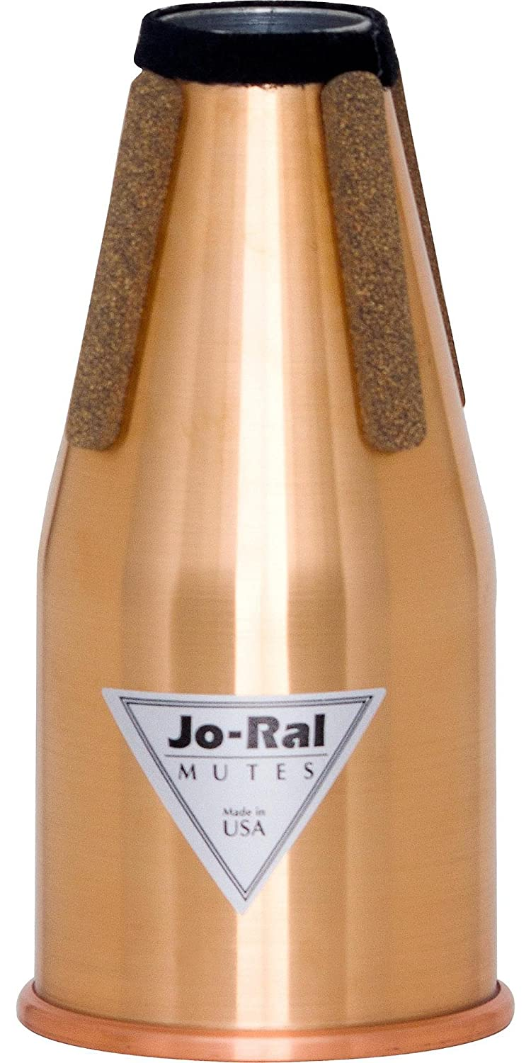 Jo-Ral FRC All Copper Non Transposing French Horn Straight Mute FR-C
