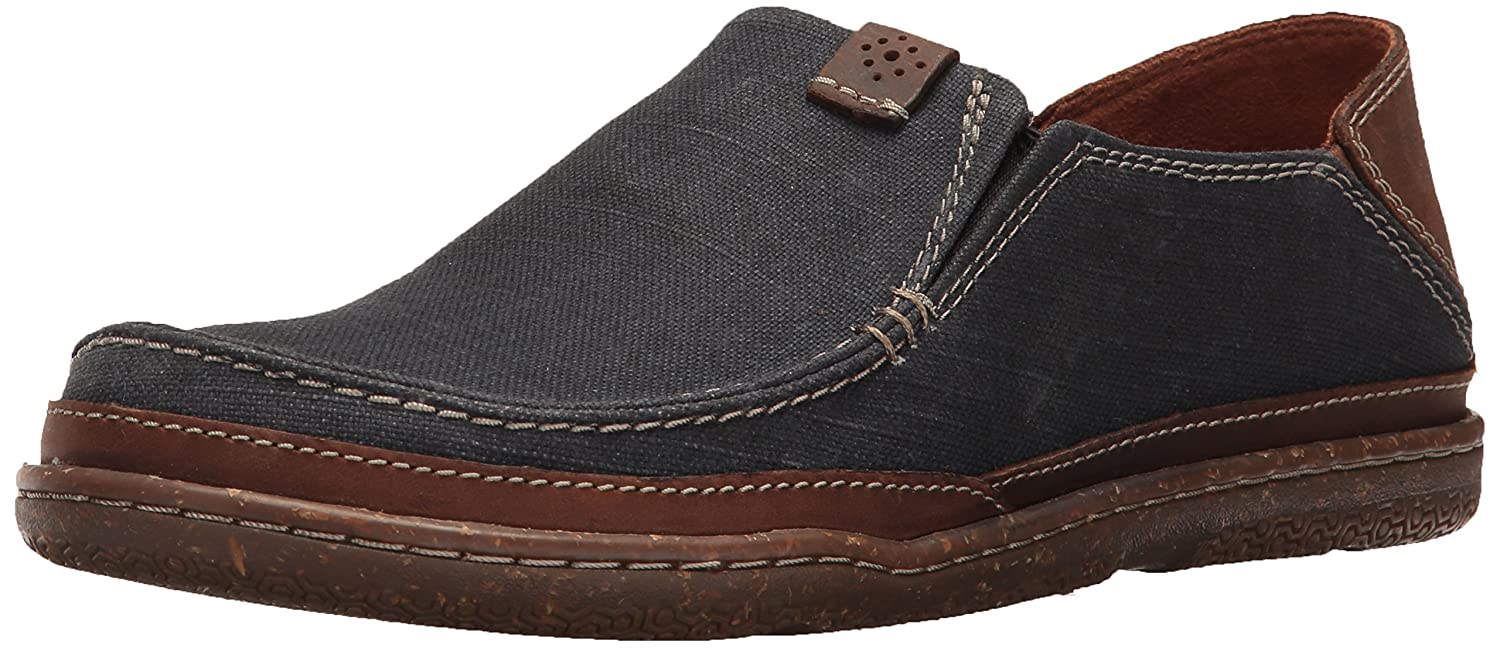 CLARKS CLARKS TRAPELL FORM (RED CANVAS) MEN'S SHOES